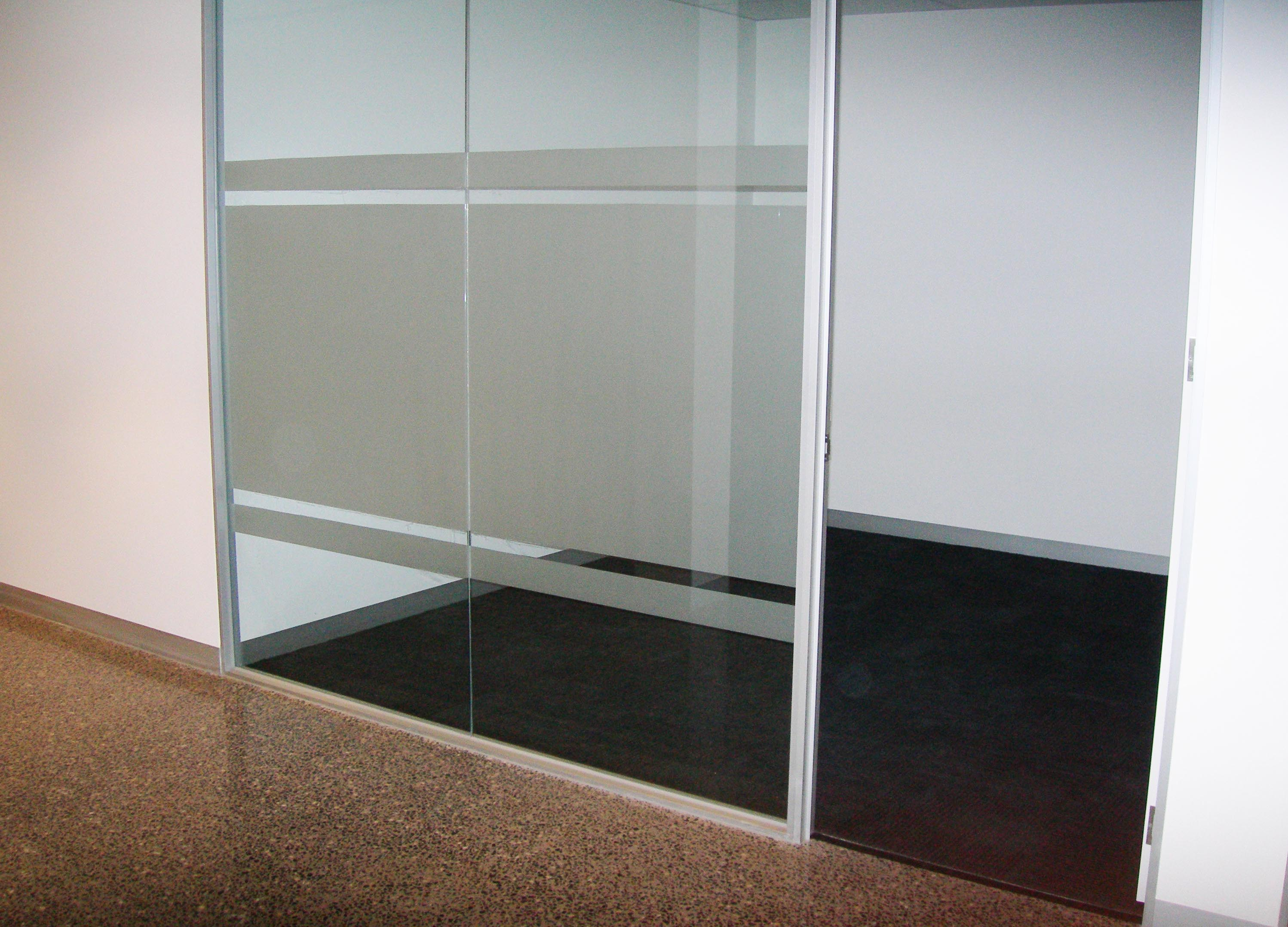 Office Glass Panel