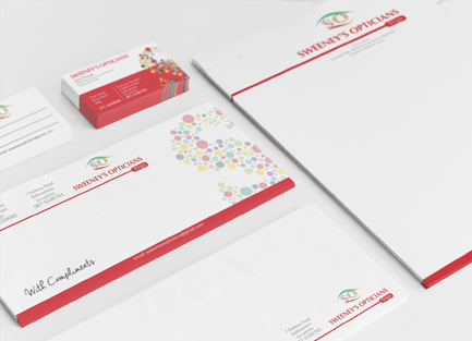 business stationery printers in sligo